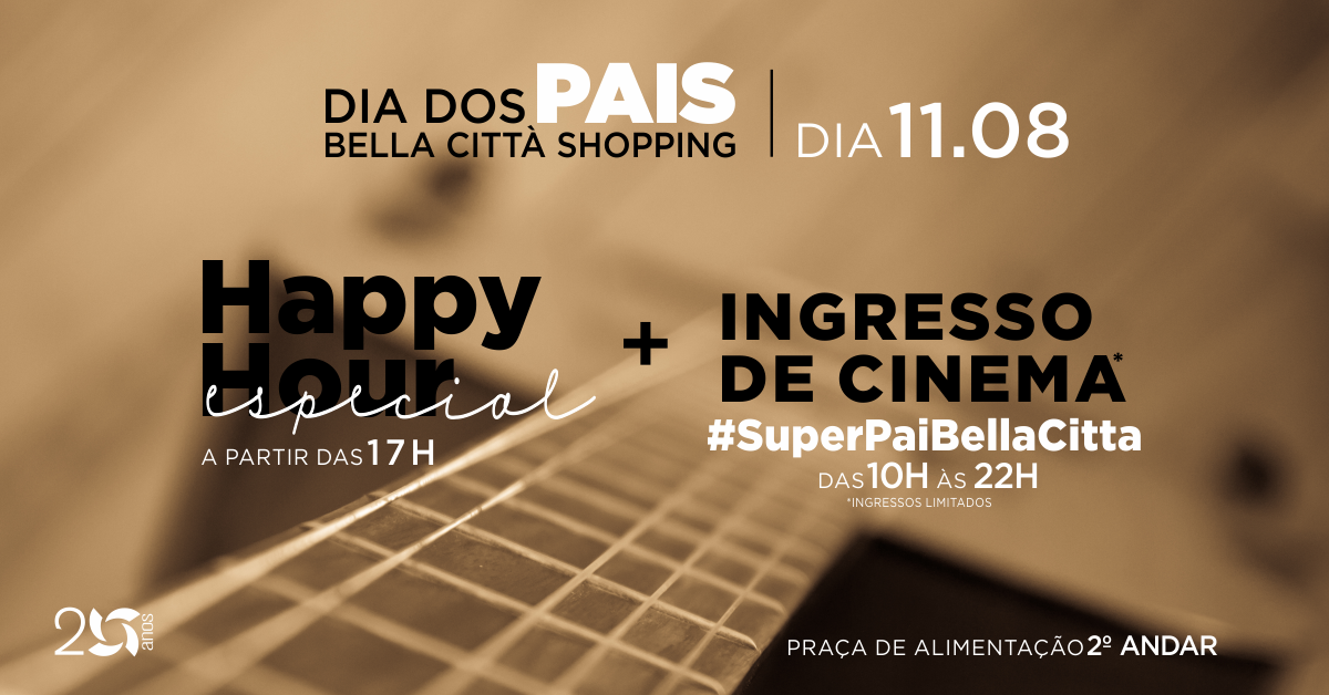 Pais ganham Happy Hour especial no Bella Città