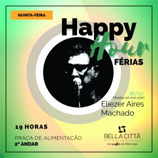Happy Hour de férias no Bella Città